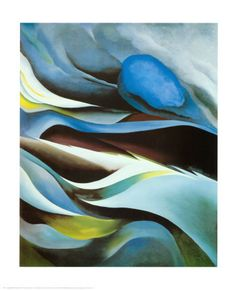 "Georgia O'Keeffe ""At the Lake"""