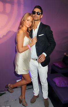 Young love: Millie and Hugo first dated during her Made In Chelsea days, but they called time on their romance after he cheated on her with her friend, Rosie Fortescue