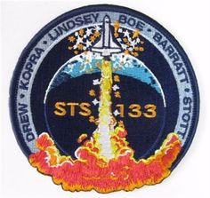 STS133 Mission Patch. STS-133 is currently scheduled for launch on February 24, 2011. STS-133 is a NASA Space Shuttle mission to the International Space Station. The mission will transport the Pressurized Multipurpose Module and the fourth ExPRESS Logistics Carrier to the ISS. The mission will be the 39th and final flight of Space Shuttle Discovery and the 133rd and flight of NASA's Space Shuttle program, which began in April 1981.