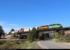 RailPictures.Net Photo: BNSF 2967 BNSF Railway EMD GP39M at Larkspur, Colorado by Joe Blackwell