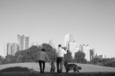 Atlanta Family and Pet Portraits | ABJ Photography | Piedmont Park Atlanta