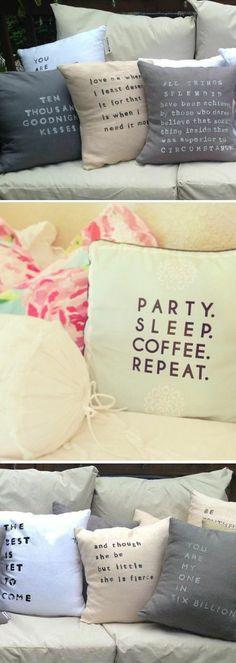 Pillow Talk ♥ L.O.V.E.