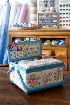 Unique Cath Kidston prints to cover every aspect of your life. Needle Case, Needle Book, Suitcase Display, Helen Phillips, Vintage Sewing Notions, Sewing Baskets, Sewing Box, Sewing Rooms, New Crafts