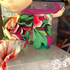 Probando #kimono para este cuerpo de #pureneemo  #blythe #couture