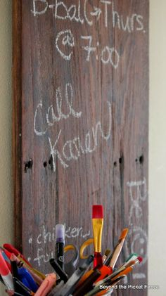 chalkboard chalk anything reclaimed wood ec4-beyondthepicketfence.blogspot.com