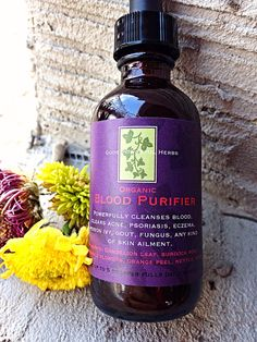 Toxin cleaner Blood Purifier tincture 2 oz. by GodsPowerfulHerbs, $9.00
