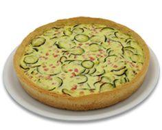 Torta salata alle zucchine e ricotta