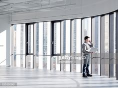 Asian businessman working in office
