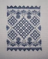 Stitchin' and Life in a Small Town: Little Lace Hardanger & Tree Of Stitches