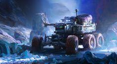 ArtStation - Europa Exploration Vehicle, John Wallin Liberto