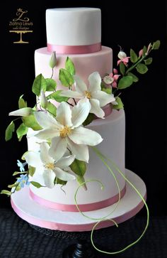 World Cancer Day Collaboration - Sugar Flowers and Cakes in Bloom by Zlatina Lewis Cake Boutique