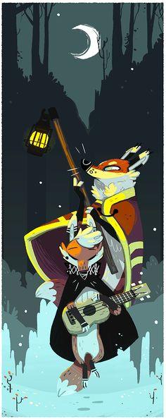 Fox-n-brownsugar Portfolio : Illustrations