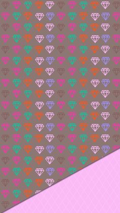 Diamond Wallpaper, Iphone Wallpaper Glitter, Pink Wallpaper, Cool Wallpaper, Pretty Wallpapers, Pin Collection, Girly, Photo And Video, Coloring