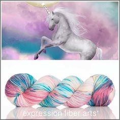 UNICORN SPRINKLES 'RESILIENT' SUPERWASH MERINO SOCK YARN BY EXPRESSION FIBER ARTS