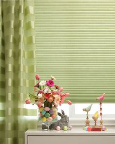 Duette® Architella® honeycomb shades with PowerView™ Motorization