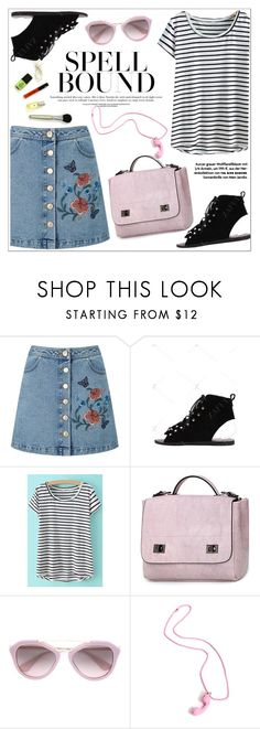 """""""Marine Layer: Striped Shirts"""" by teoecar ❤ liked on Polyvore featuring Miss Selfridge, Prada and stripedshirt"""