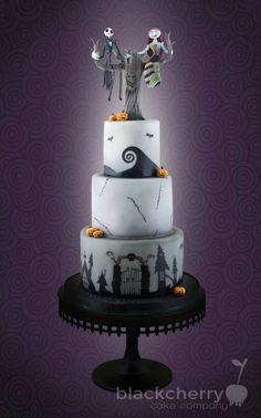 Gâteau L'Étrange Noël de Monsieur Jack