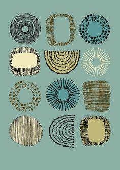 iheartprintsandpatterns: I ♥ Etsy - Eloise Renouf