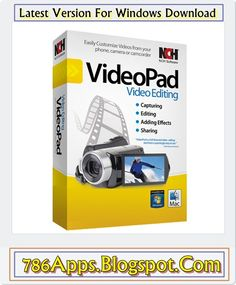 VideoPad Video Editor 4.14 Beta For Windows Update Download