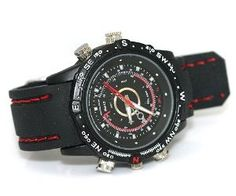 Spy Watch Night Vision Camera. Very cool website as well. Lots of neat stuff!