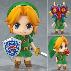 AmiAmi [Character & Hobby Shop] | Nendoroid - The Legend of Zelda: Link Majora's Mask 3D Ver.(Pre-order)