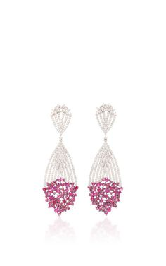 Apus Earrings With Rubies by HUEB for Preorder on Moda Operandi