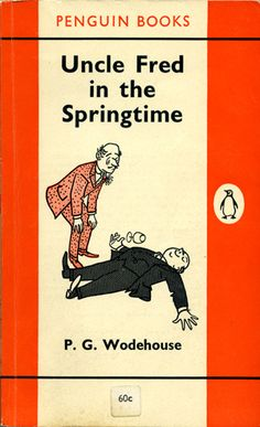 A cover for 'Uncle Fred in the Springtime' by P.G. Wodehouse