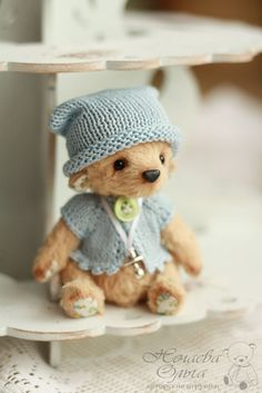 Teddy Bears handmade. Fair Masters - handmade. Buy Phoebe (10.5 cm). Handmade. Beige, Bears by Olga Nechaev