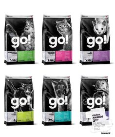 The Dieline Awards. Second Place Winner: Go! Pet Food Packaging System. Entrant: Subplot Design