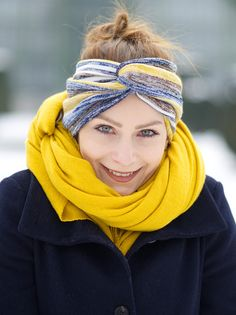 Most current Absolutely Free Sewing for beginners headbands Tips diy-stirnband-naehen-esprit Sewing Projects For Beginners, Knitting For Beginners, Sewing Tutorials, Sewing Hacks, Sewing Tips, Diy Projects, Sewing Headbands, Fabric Headbands, Cute Headbands