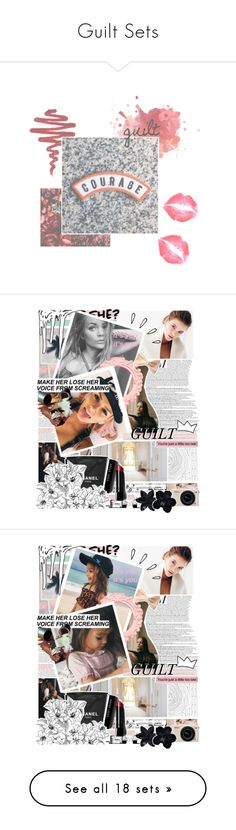 """""""Guilt Sets"""" by gypsyoccult ❤ liked on Polyvore featuring effects, backgrounds, textures, fillers, sparkles, frames, embellishments, borders, details and text"""