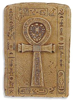 Only Kings, Queens and Gods were allowed to carry this symbol. The ankh is the Egyptian sign of life and indicates that the King or God holding it has the power to give life or take it away from lesser mortals.