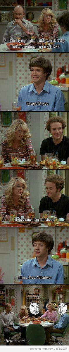 Favourite quote of all time for That 70's Show