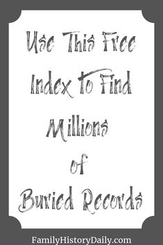 genealogy Looking for birth, marriage or death records from England or Wales in the last 180 years? Then you'll need the free GRO index. Free Genealogy Records, Free Genealogy Sites, Genealogy Search, Family Genealogy, Genealogy Organization, School Organization, Family Tree Research, Family History Book, Wales