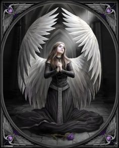 gothic christmas posters | Home » Fantasy/Virtual » Mythology » Prayer For The Fallen, Anne ...