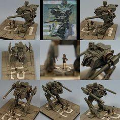 Mech diorama
