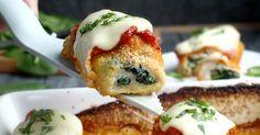 Obiad - Roladki z kurczaka pod mozzarellą