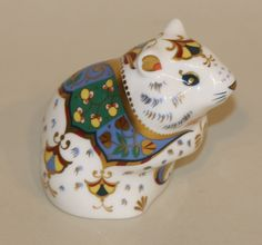 2007 Royal Crown Derby Imari Gold Stopper Paperweight Hamster | eBay