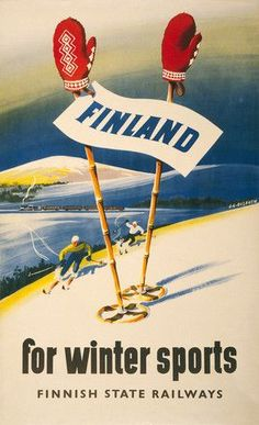 Finland for Winter Sports – Vintagraph: