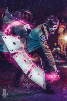 Gambit, X-Men, by Handsome Jordan Cosplay, photo by David Love.