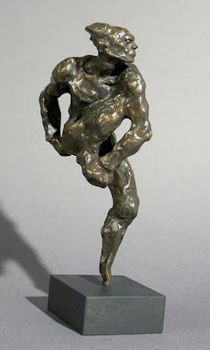 Auguste Rodin, Nijinsky como fauno (1912) - L'après-midi d'un faune