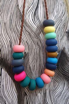 Hazel Beaded Necklace by @Emily Green