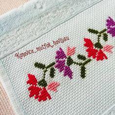 Cross Stitch Bookmarks, Cross Stitch Borders, Cross Stitch Designs, Cross Stitching, Cross Stitch Patterns, Hand Embroidery Design Patterns, Crochet Patterns, Crewel Embroidery, Crochet Bedspread