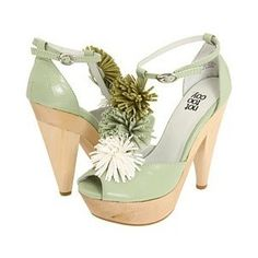sage coloured shoes