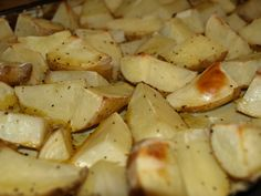 Easy Lemon Pepper Potatoes--From Just A Little Nutty