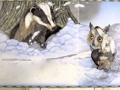 The Mitten , illustrated by Jan Brett, on youtube. Pinned by www.preschoolspee...