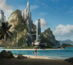future city  This is where I'm going for my next vacation  July  2013