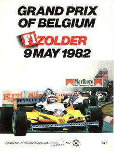 1982 GP de Bélgica en Zolder