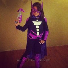 Kid Huntress Batgirl Costume... Coolest Halloween Costume Contest