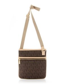 Large Crossbody Bag, Brown  by MICHAEL Michael Kors at Neiman Marcus.